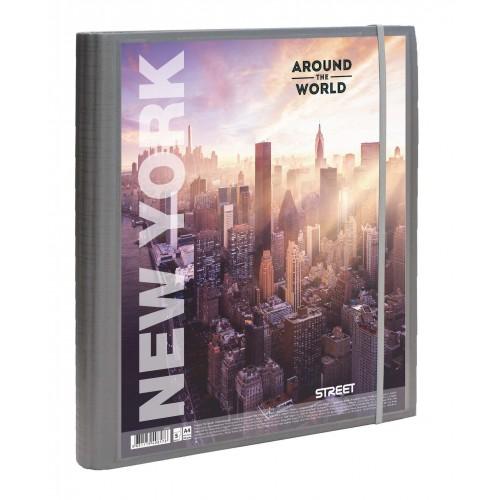 Projektna mapa Street Around the World A4