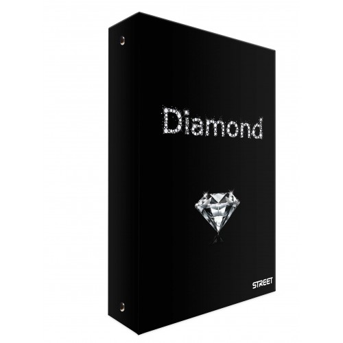Mapa s 4 ringa Street Diamond, A4