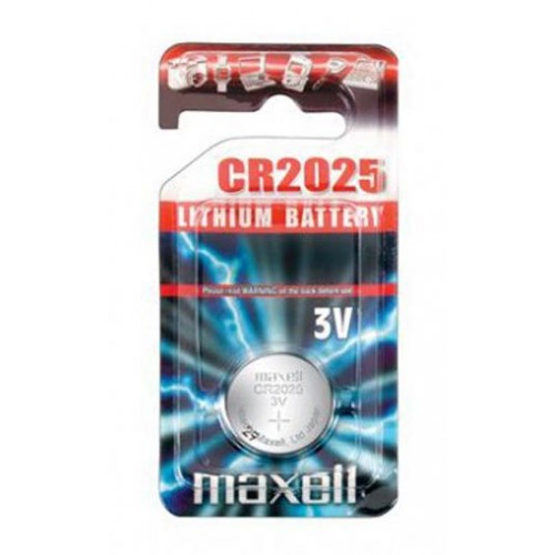 Okrugla gumb baterija Maxell CR2025