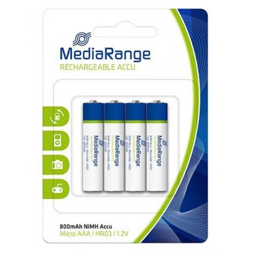 Punjive baterije Mediarange AAA 1,5V