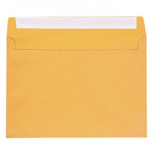 Kuverta B5, 17,5 x 25,0 cm, smeđa, 1/1
