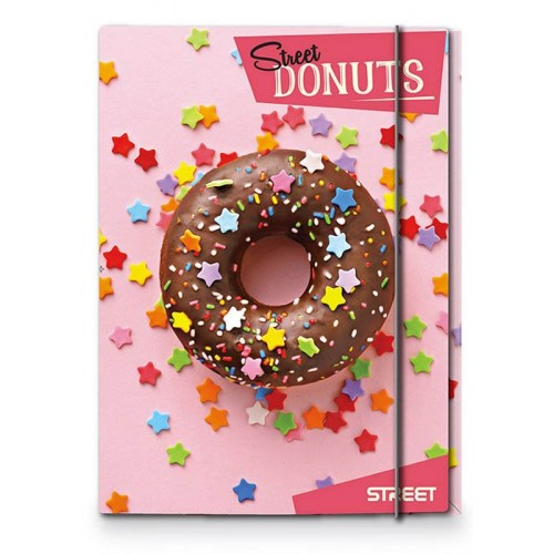 Mapa s gumicom Street Donuts