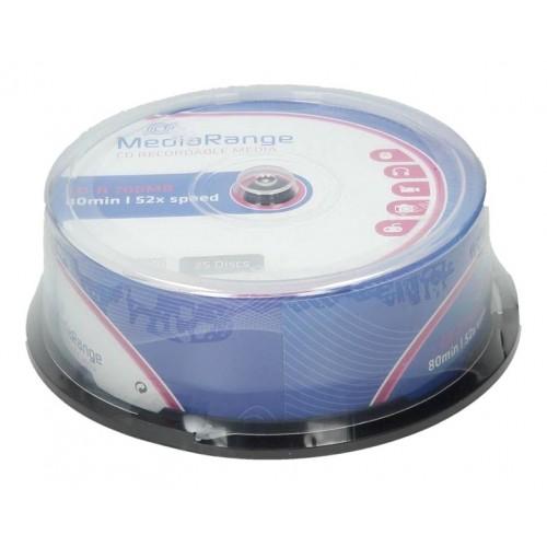 CD-R Mediarange 700 MB, 25/1