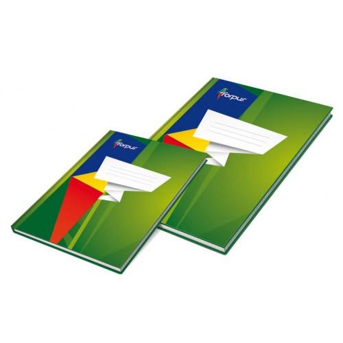 Bilježnica s tvrdim koricama Forpus A4, mali karo uzorak