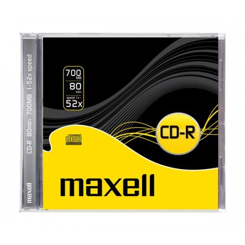 CD-R Maxell 700 MB PVC, 1/1