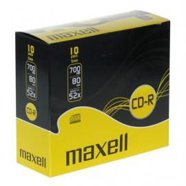 CD-R Maxell 700 MB PVC, 10/1