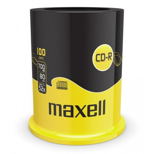 CD-R Maxell 700 MB, 100/1
