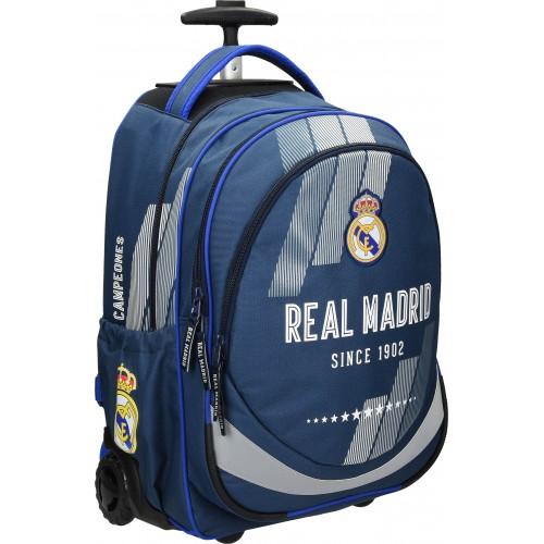 Školska torba sa kotačima Real Madrid