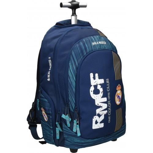Školska torba sa kotačima Real Madrid 2