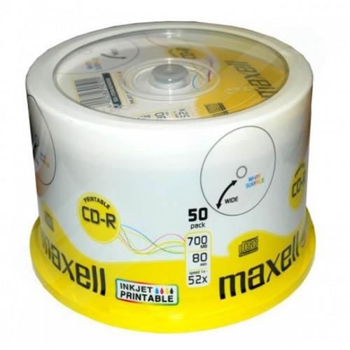 CD-R Maxell PRINTABLE, 50/1