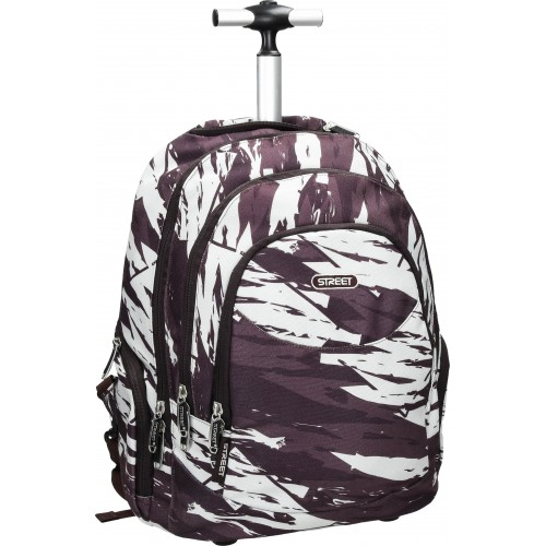 Školska torba sa kotačima Round Canvas Kalahari