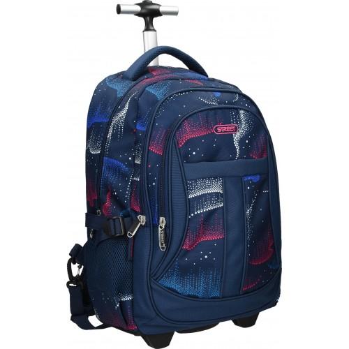 Školska torba sa kotačima Round Active Aurora