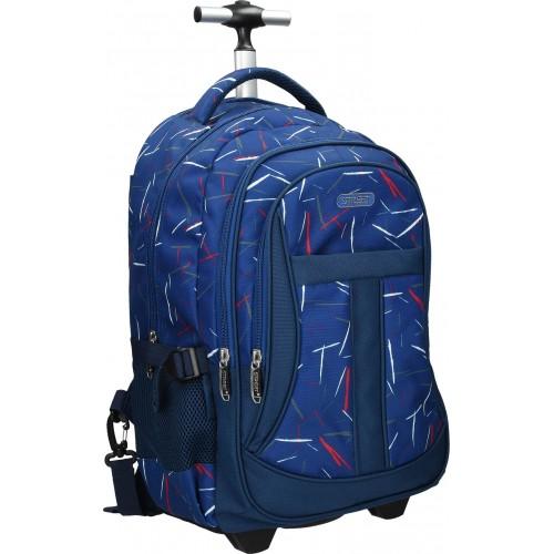 Školska torba sa kotačima Round Active Drift