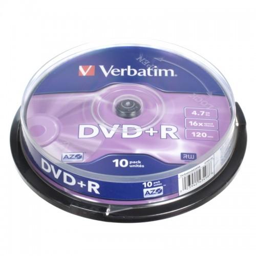 DVD+R Verbatim, 10/1