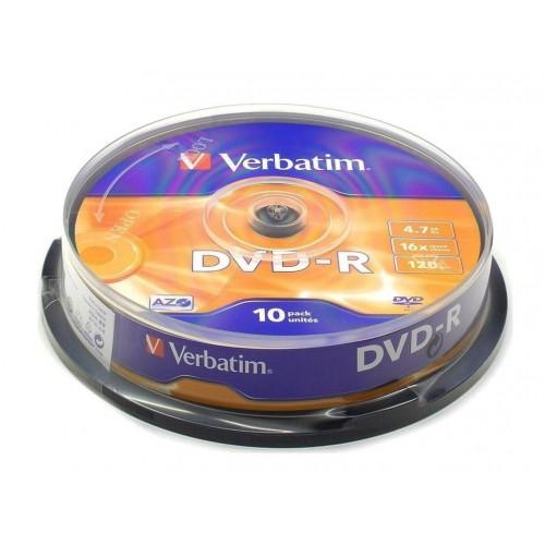DVD-R Verbatim, 10/1