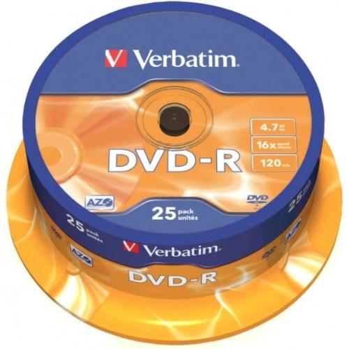 DVD-R Verbatim, 25/1