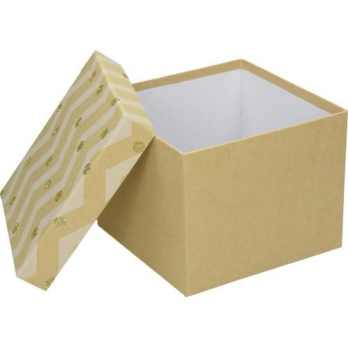 Poklon kutija BBP Xmas Dots, medium