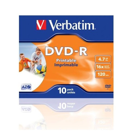 DVD-R Verbatim Photo Printable, 1/1