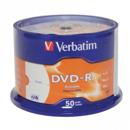DVD-R Verbatim PRINTABLE, 50/1