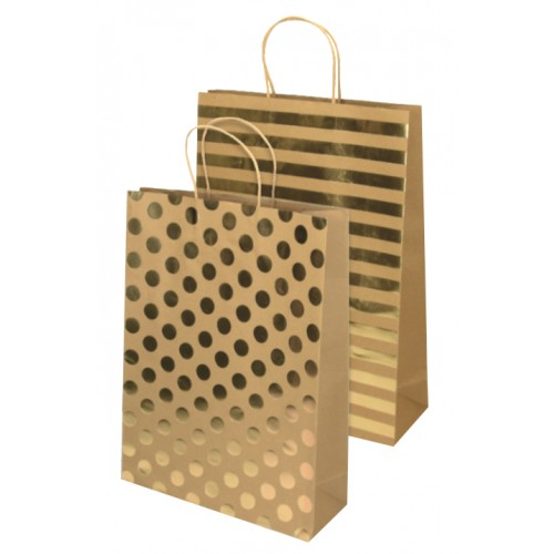 Darovna vrećica Eco Gold, jumbo