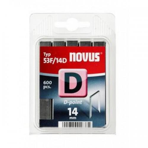 Punjenja za klamerice Novus Tip D-point, 53F/14