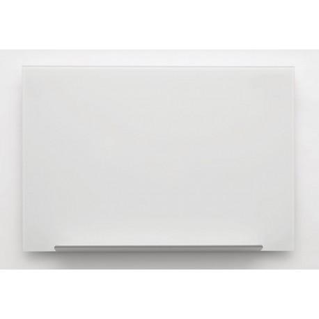 Bijela staklena magnetna ploča Nobo Diamond 67,7 x 38,1 cm