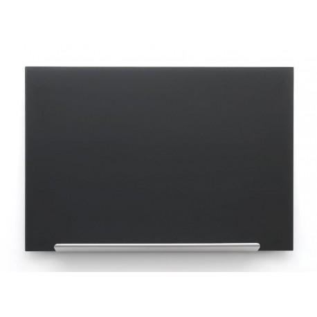 Crna staklena magnetna ploča Nobo Diamond 67,7 x 38,1 cm