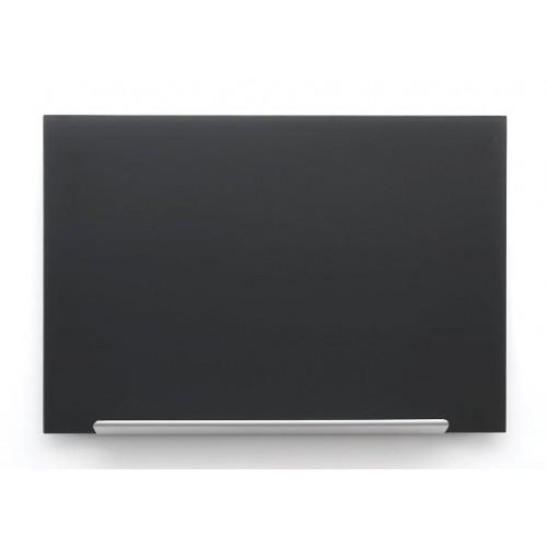 Crna staklena magnetna ploča Nobo Diamond 99,3 x 55,9 cm