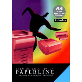 Fotokopirni papir Paperline A4,  neon mix