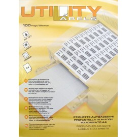 Etikete Utility 48,5 x 25,4 mm