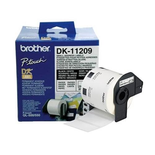 Naljepnice za QL pisače 26 x 62 mm, manje naljepnice