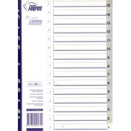 Pregradni registri PP 15-1, sivi