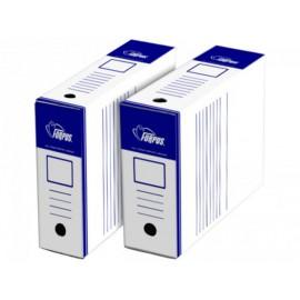 Kutija za arhivu A4/100, bijelo plava