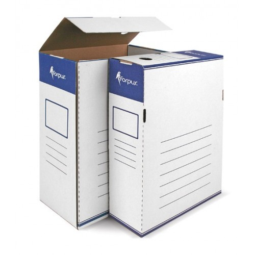 Kutija za arhivu A4/120, plavo bjela