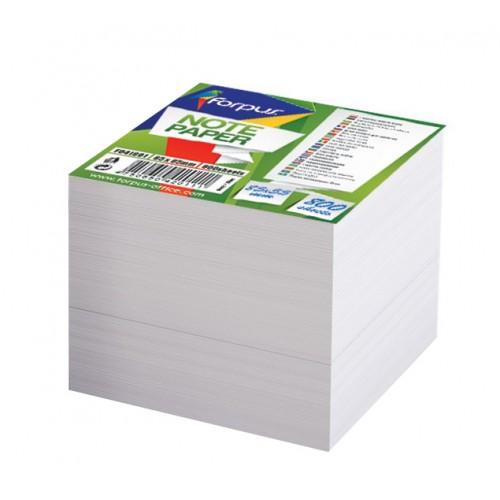 Listići za umetanje u kocku 85 x 85 mm, bijeli