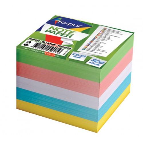 Listići za umetanje u kocku 85 x 85 mm, u boji