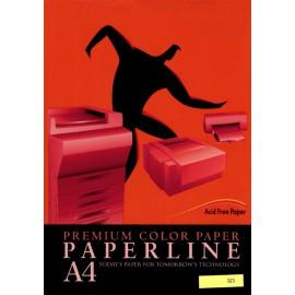 Fotokopirni papir Paperline A4, Red