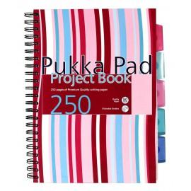 Spiralna bilježnica Pukka Pad Project Book, A4 crte