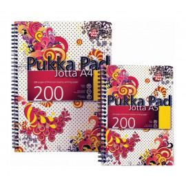 Spiralna bilježnica Pukka Pad Lush, A5 crte