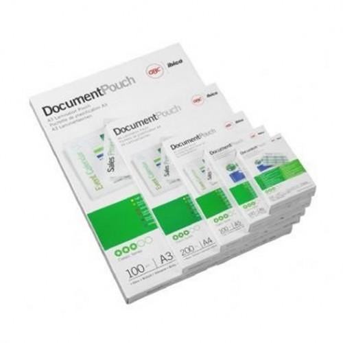 Folije za plastificiranje 60 x 90 mm, 125 mic (kartica)