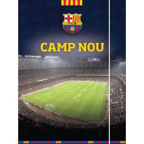 Mapa s gumicom Barcelona Camp Nou