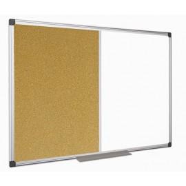 Ploča 90 x 120 cm, kombinirana (pluto + magnet)