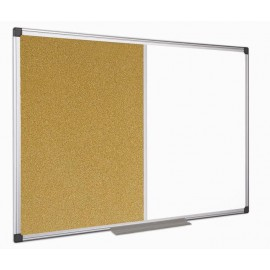 Ploča 120 x 150 cm, kombinirana (pluto + magnet)