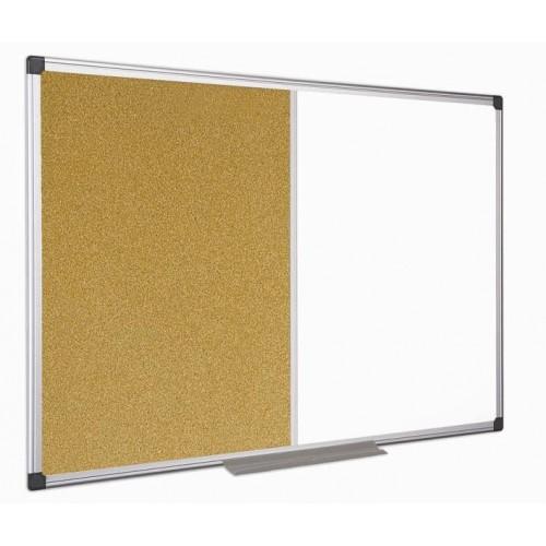 Ploča 120 x 180 cm, kombinirana (pluto + magnet)