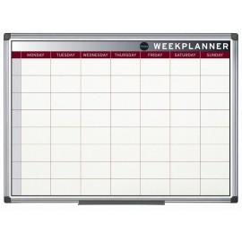 Ploča s tjednim planerom 60 x 90 cm