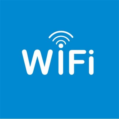 Naljepnica – područje WiFi signala
