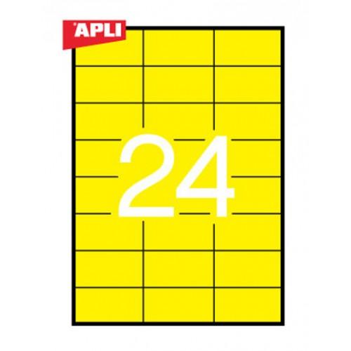 Etikete Apli 70 x 37 mm, 20/1