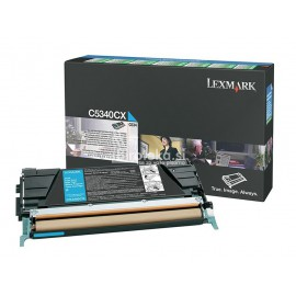 Toner Lexmarx C5340CX – cyan