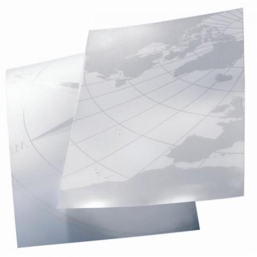 Folija za uvez s motivom Globus - 0,35 mm