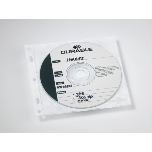 Etui za CD/DVD Durable, 10/1